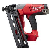 Аккумуляторный гвоздезабиватель с наклонным магазином Milwaukee M18 FUEL CN16GA-202X 4933451570
