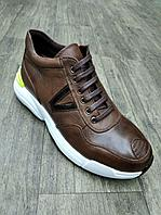 Кожаная спортивная обувь мужская