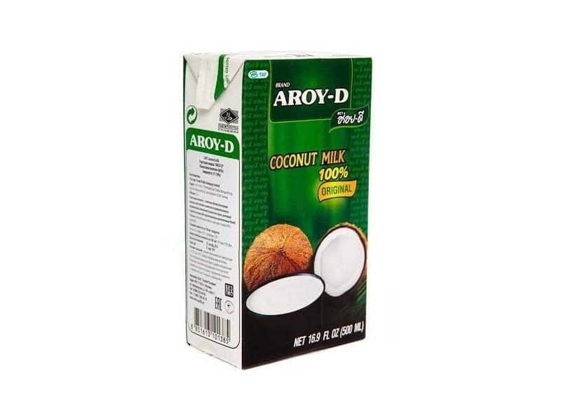 Молоко кокосовое AROY-D  ,500 мл