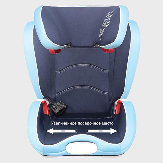 Автокресло 15-36 кг Corsa Fix Серо-синий BAMBOLA