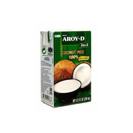 Молоко кокосовое AROY-D  ,250 мл