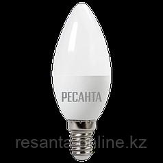 Лампа светодиодная РЕСАНТА LL-R-C37-6W-230-3K-E14