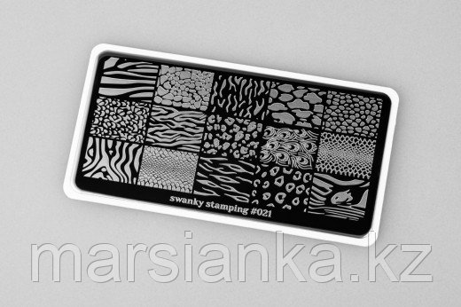 Пластина Swanky Stamping #021