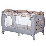 PITUSO Манеж-кровать GRANADA ПТИЧКИ 2-уровневый P613 BIRD, фото 2