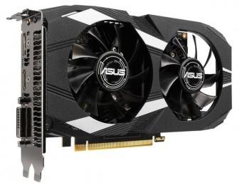 Видеокарта ASUS GeForce GTX1650 4Gb GDDR5 128bit 1xDVI 1xHDMI 1xDP HDCP DUAL-GTX1650-4G