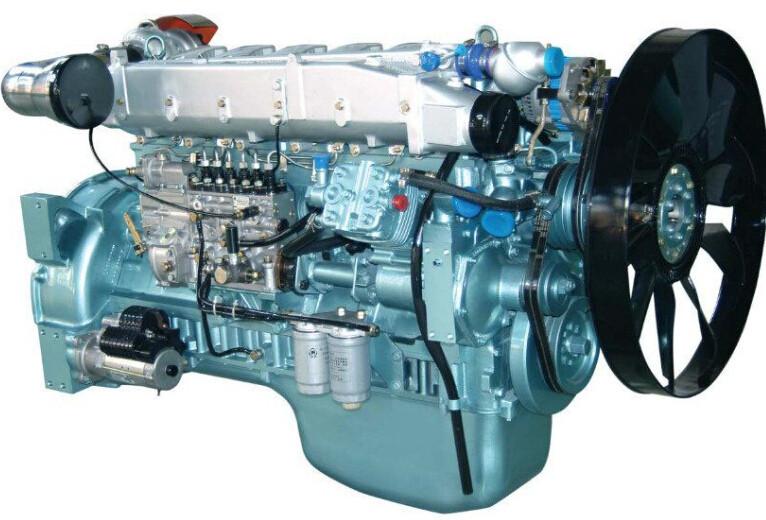 CNHTC Sinotruk WD615.87 рядный 6-цилиндровый дизельный двигатель для HOWO ZZ3251 / ZZ3252