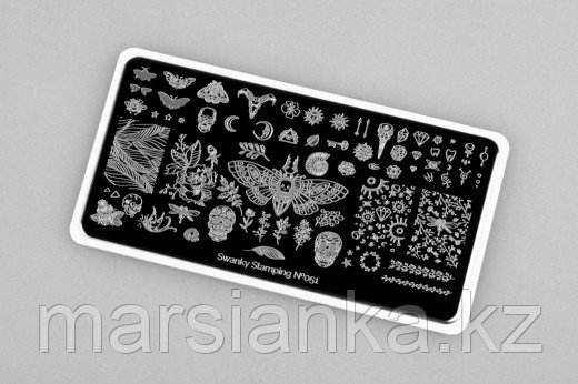Пластина Swanky Stamping #51