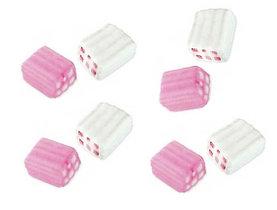 Суфле блочки бело розовые 0,86кг 125шт   /Fini Испания/