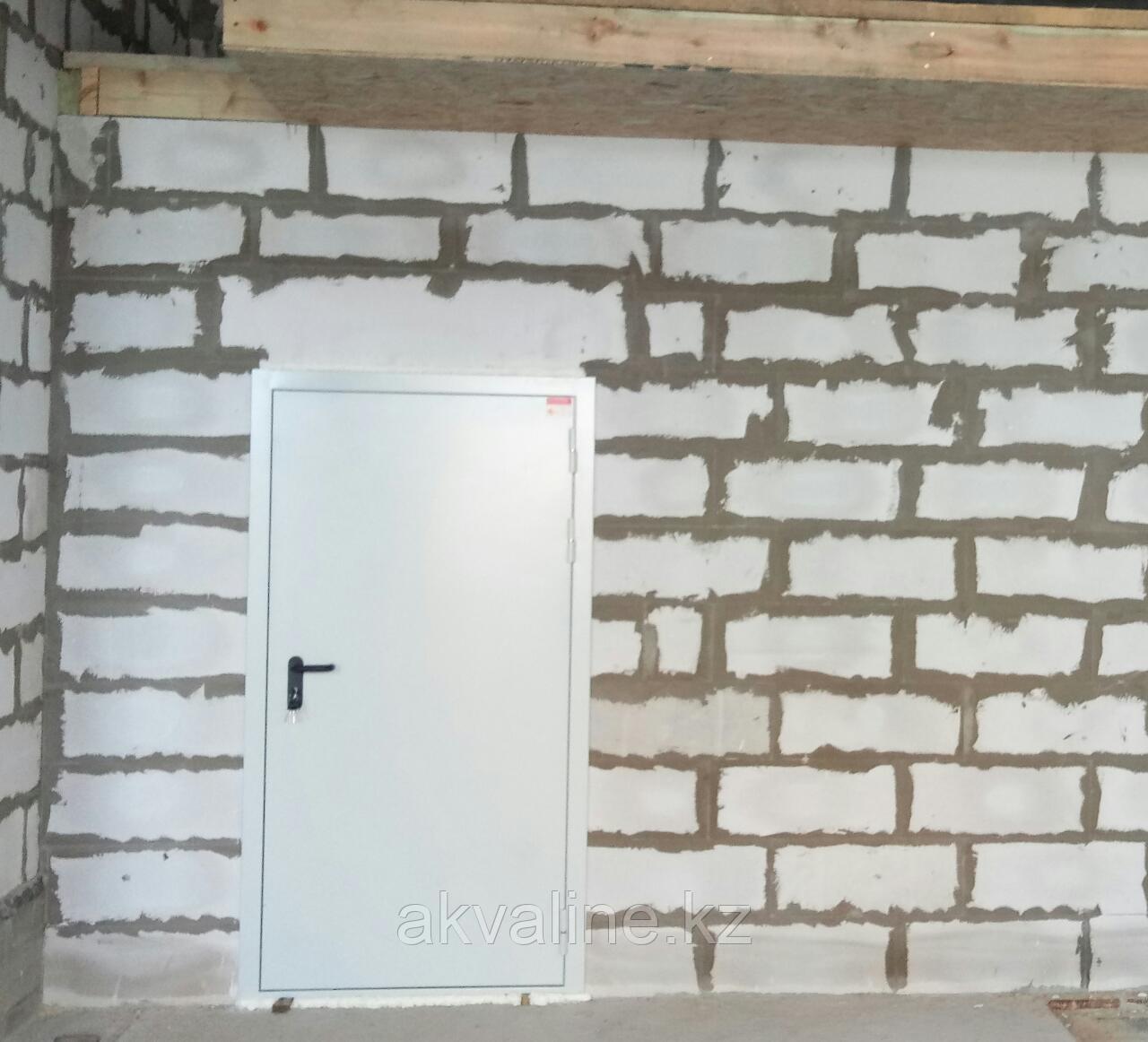 Дверь противопожарная в котельную 960х2070 мм