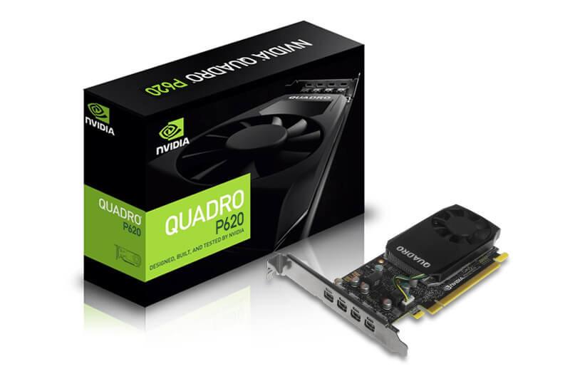 Профессиональный графический ускоритель ASUS Quadro P620 2GB GDDR5,128-bit