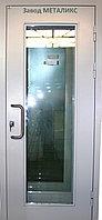 Остекленные двери и входные группы металлические
