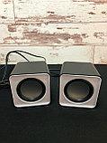Компьютерные колонки F1 Green, фото 2