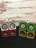Компьютерные колонки F1 Green, фото 3