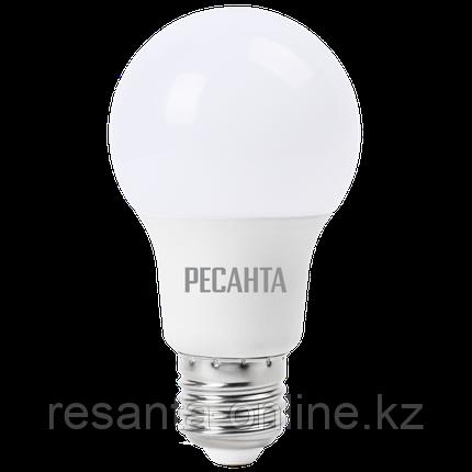 Лампа светодиодная РЕСАНТА LL-R-A60-9W-230-4K-E27, фото 2