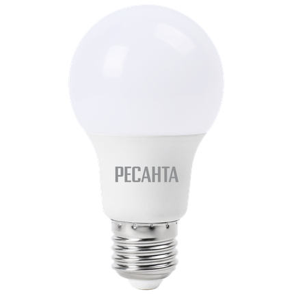 Лампа светодиодная РЕСАНТА LL-R-A60-15W-230-4K-E27, фото 2