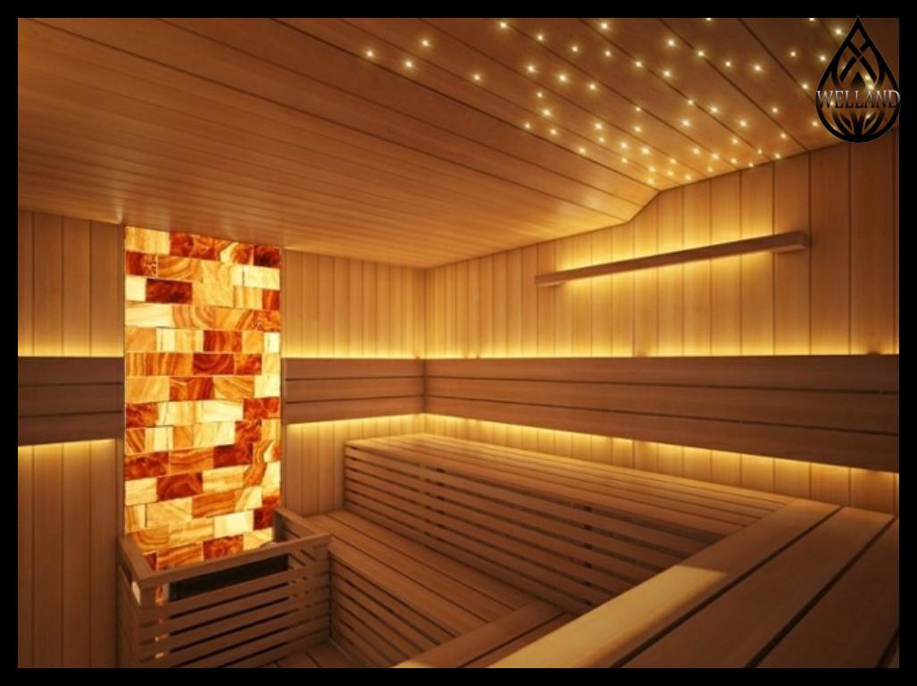 Декоративное освещение в сауне