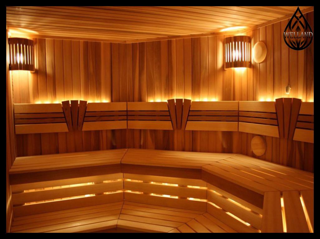 Основное освещение в бани