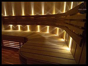 Оптоволоконное освещение в баню