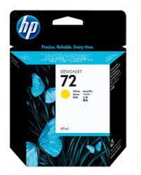 HP C9400A Картридж желтый HP 72 для Designjet T1100/Т1100ps/Т610, 69 ml.
