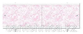 Экран для ванны 1680х560х37 мм мрамор розовый
