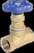 Вентиль (клапан запорный) латунь 15б3р Ду 40 Ру16, м/м Цветлит