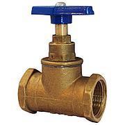 Вентиль (клапан запорный) латунь 15б3р Ду 50 Ру16, Тмакс=70 °С Цветлит