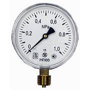 """Манометр МП-100 радиальный Дк100мм 10 бар (1,0 Мпа) G1/2"""" Завод Теплотехнических Приборов"""