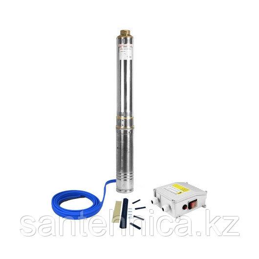 """Скважинный насос 3"""" 750 Вт кабель 50 м 3-SDM-2-65 Jemix"""