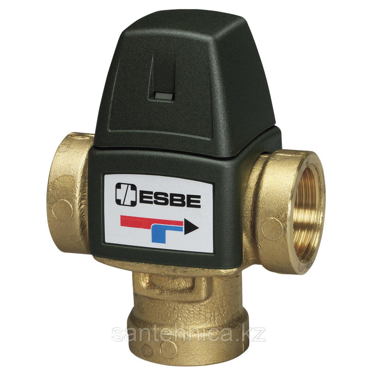"""Клапан термостатический смесительный ESBE VTA321 20-43C, вн.р. 3/4"""", Kvs 1,6, PN10"""