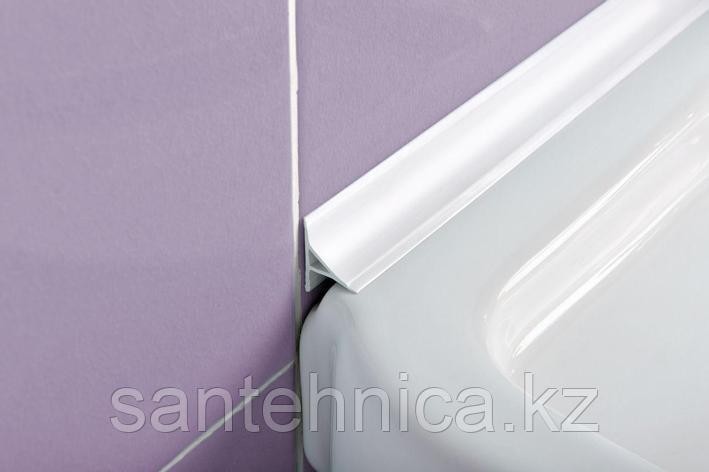 Бордюр для ванны 1,8 м белый 35 мм, фото 2