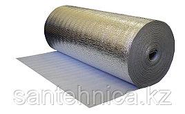 Полотно с алюминивой фольгой для теплых полов 3 мм