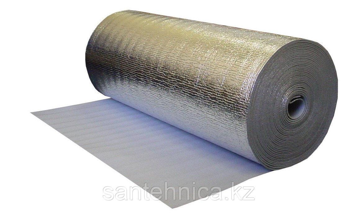Полотно с алюминивой фольгой для теплых полов 5 мм