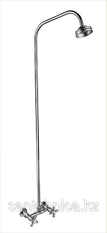 Смеситель для душа ПСМ-110-К/89 двуручный со стационарной трубкой Профсан, фото 2