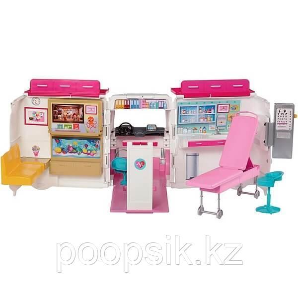 Барби Машина скорой помощи Barbie FRM19 - фото 2