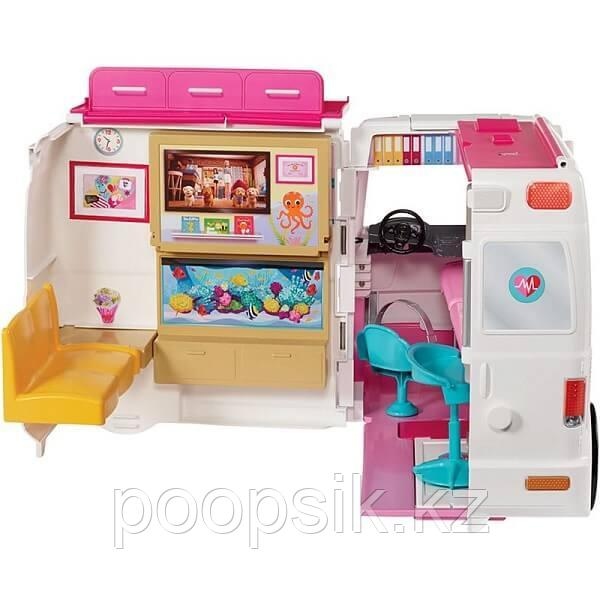 Барби Машина скорой помощи Barbie FRM19 - фото 4