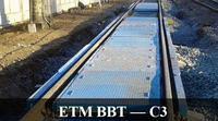 Весы вагонные тензометрические для статического взвешивания ЕТМ ВВТ-С3