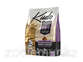 KUDO сухой корм для щенков средних и крупных пород с курицей 2.5 кг