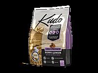 KUDO сухой корм для щенков средних и крупных пород с курицей 7.5 кг, фото 1