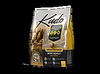 KUDO сухой корм для взрослых собак мелких пород с курицей 7.5 кг