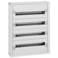 Legrand Шкаф распределительный с пластиковым корпусом XL3 160 для модульного оборудования 4 рейки серверный шкаф (20054)