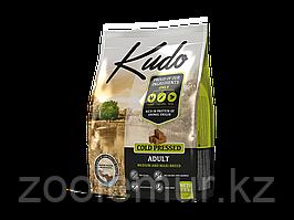 KUDO сухой корм для взрослых собак средних и крупных пород с курицей 7.5 кг