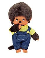 Мягкая игрушка Мончичи, 20 см мальчик в комбинезоне и желтой футболке