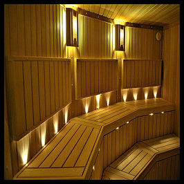 Точечное декоративное освещение Sauna LedLight