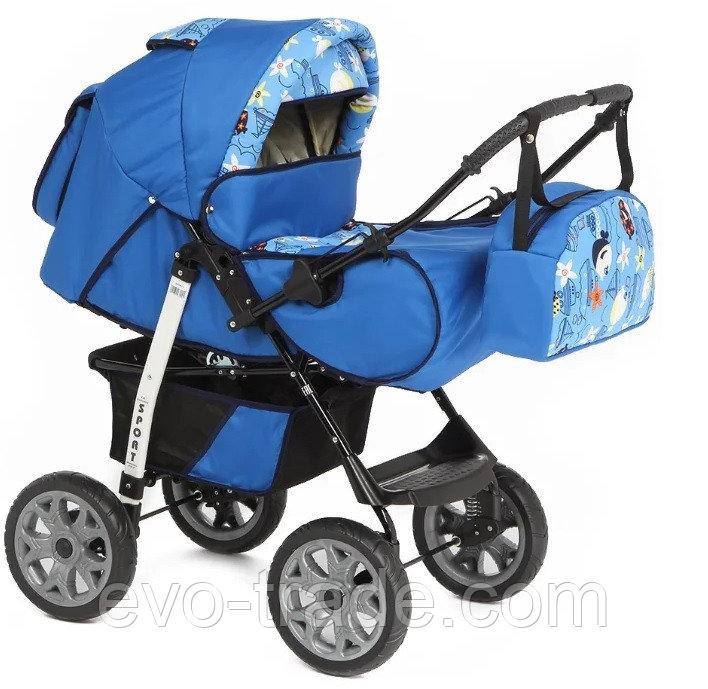 Коляска-трансфомер Marimex Sport (синий)