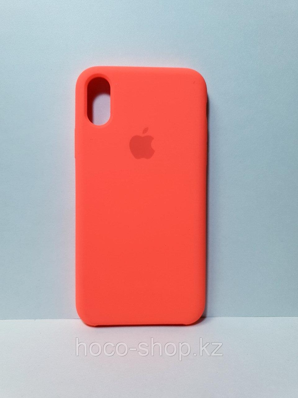 Силиконовый чехол iPhone X/Xs