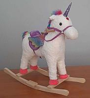 Детская качалка Единорог Music Horse