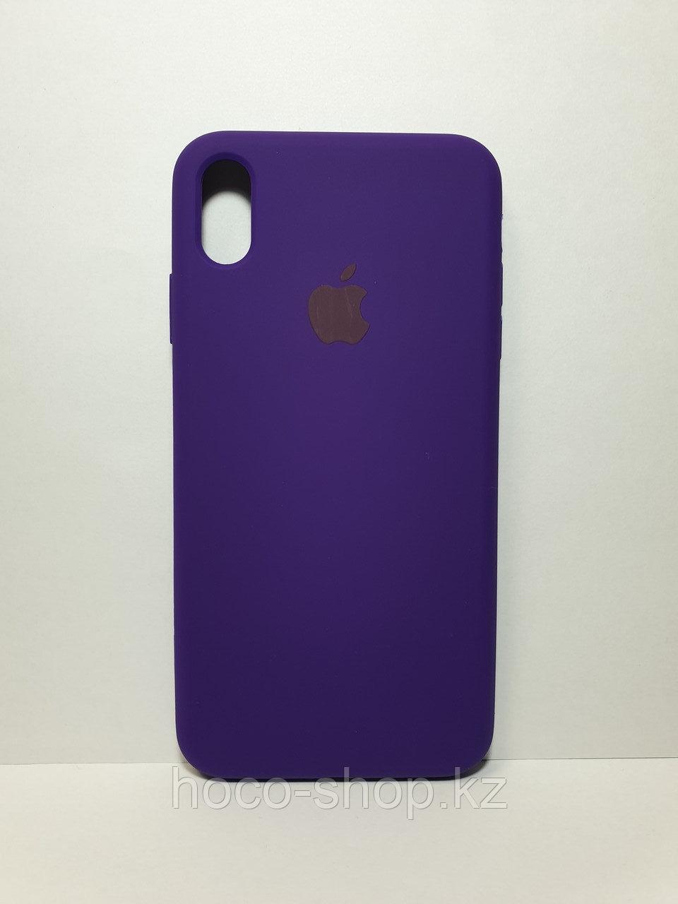 Оригинальный силиконовый чехол iPhone X/Xs