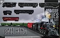 Железная дорога с 4 вагонами Rail King