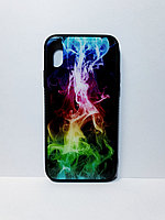 Чехол гель со стеклом iPhone X/Xs