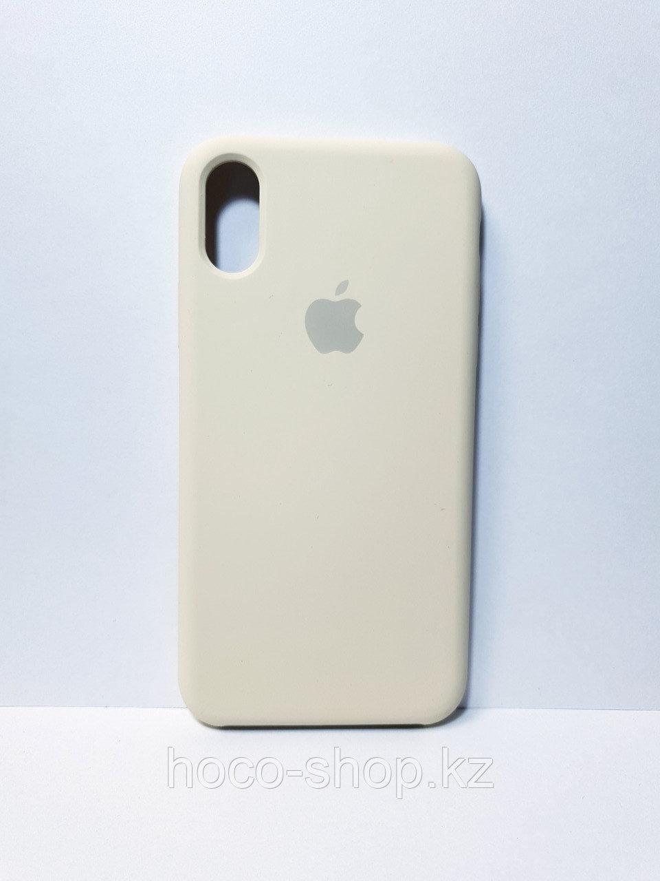 Cиликоновый чехол iPhone X/Xs